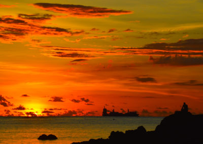 sunset-ship